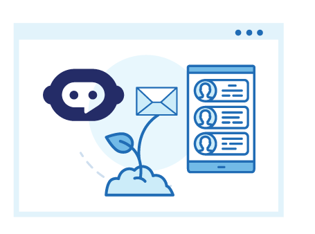 Lead Nurturing Using Emails and Chat Bots