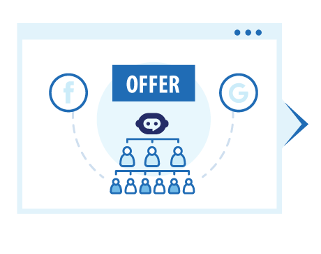 Attract Your Audience with Ads To Generate Traffic Into Your ChatBot